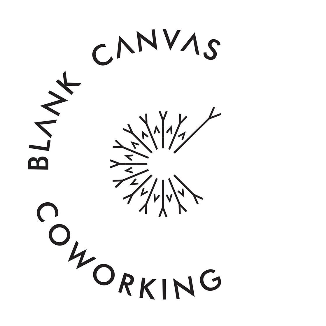 Blank Canvas Coworking logo